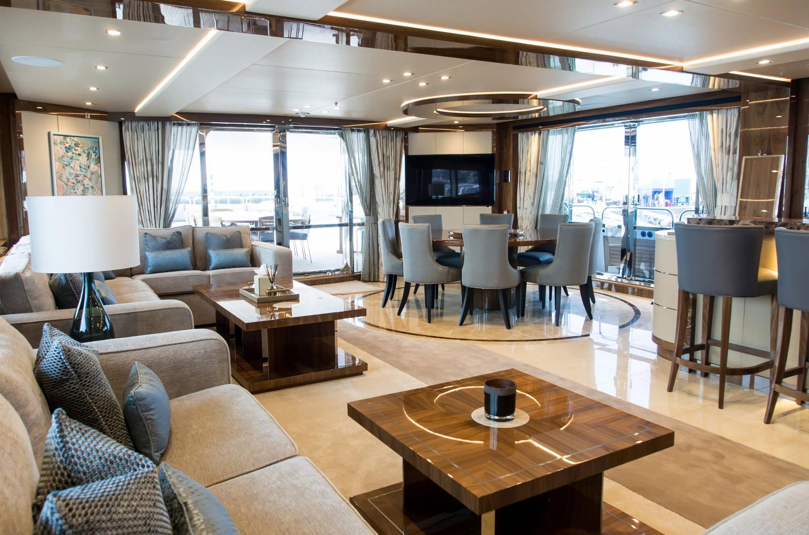Yacht PRINCESS AVK - saloon
