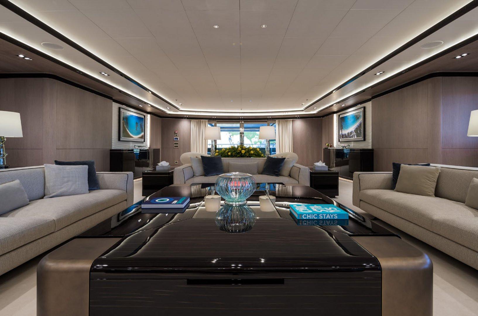 Mega Yacht O'PTASIA - saloon