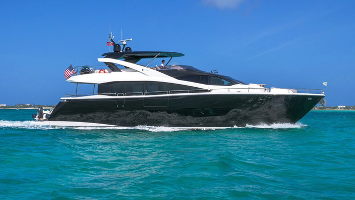 Yacht ENTERPRISE - Sunseeker 86 on charter
