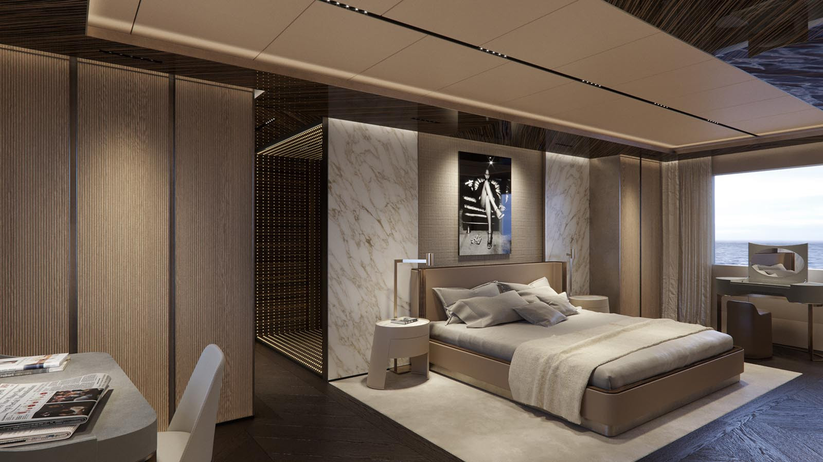 Yacht GECO - Master suite