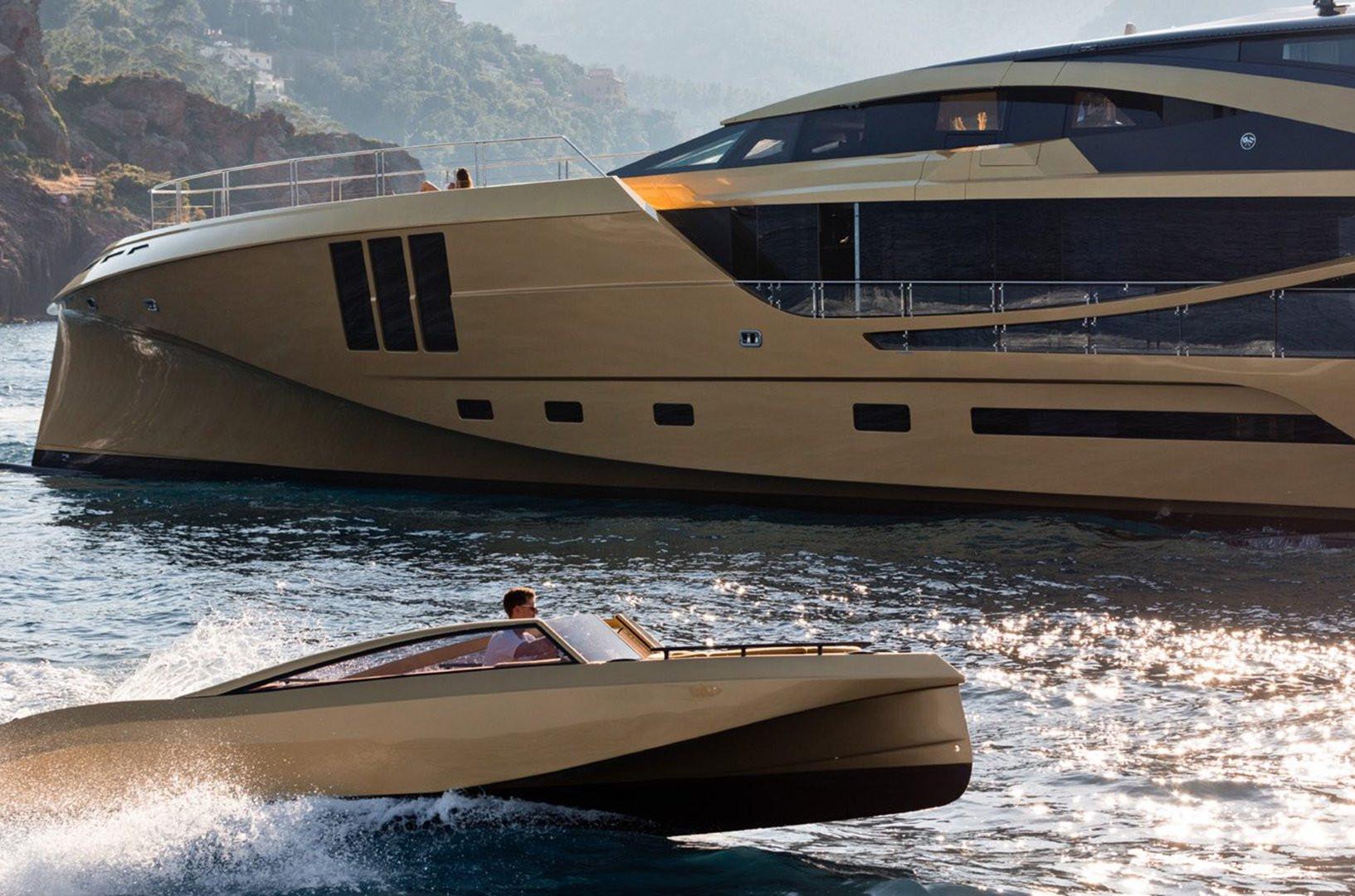 Yacht KHALILAH - tender