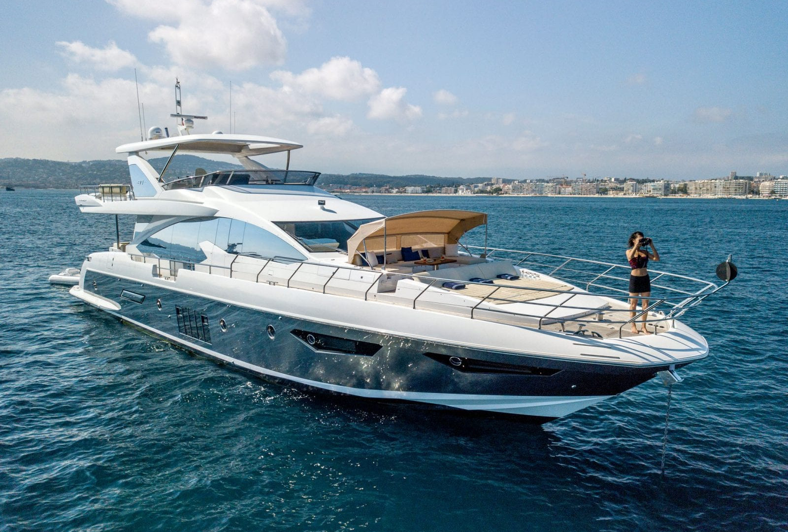 Yacht INVICTUS - on charter