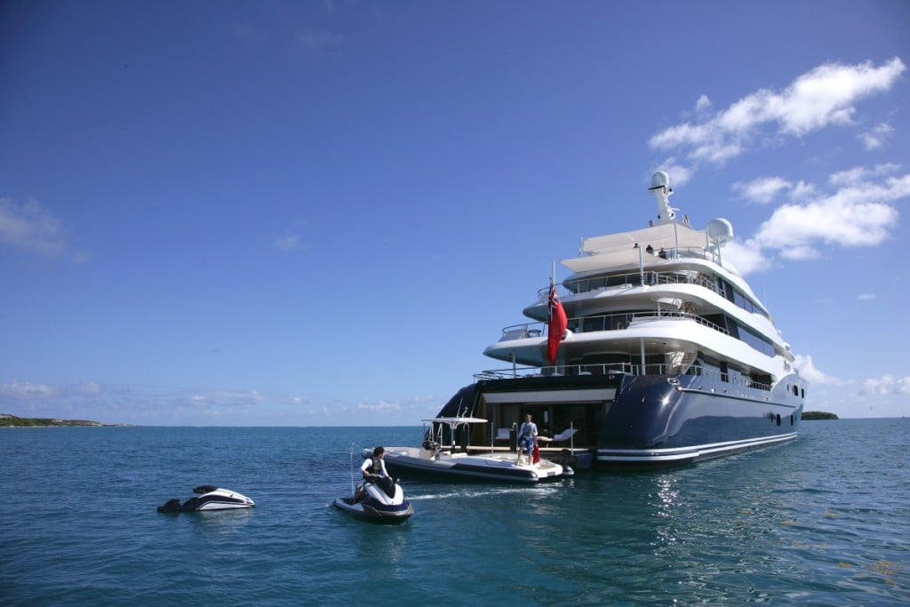 Yacht AMARYLLIS - all the toys you would expect on a mega yacht charter!