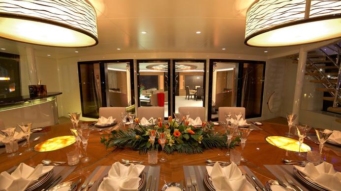 Yacht AMARYLLIS - Al fresoc dining