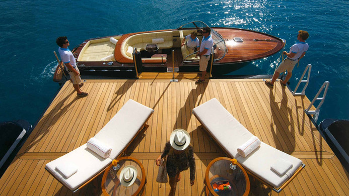 Yacht AMARYLLIS - Riva tender