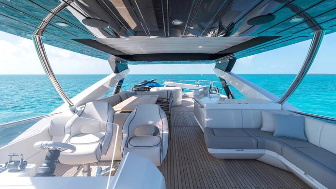 Yacht ENTERPRISE - flybridge