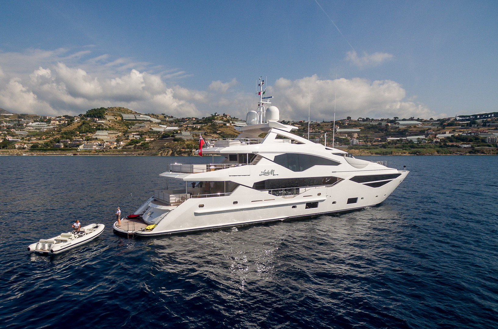 Yacht LADY M - on charter