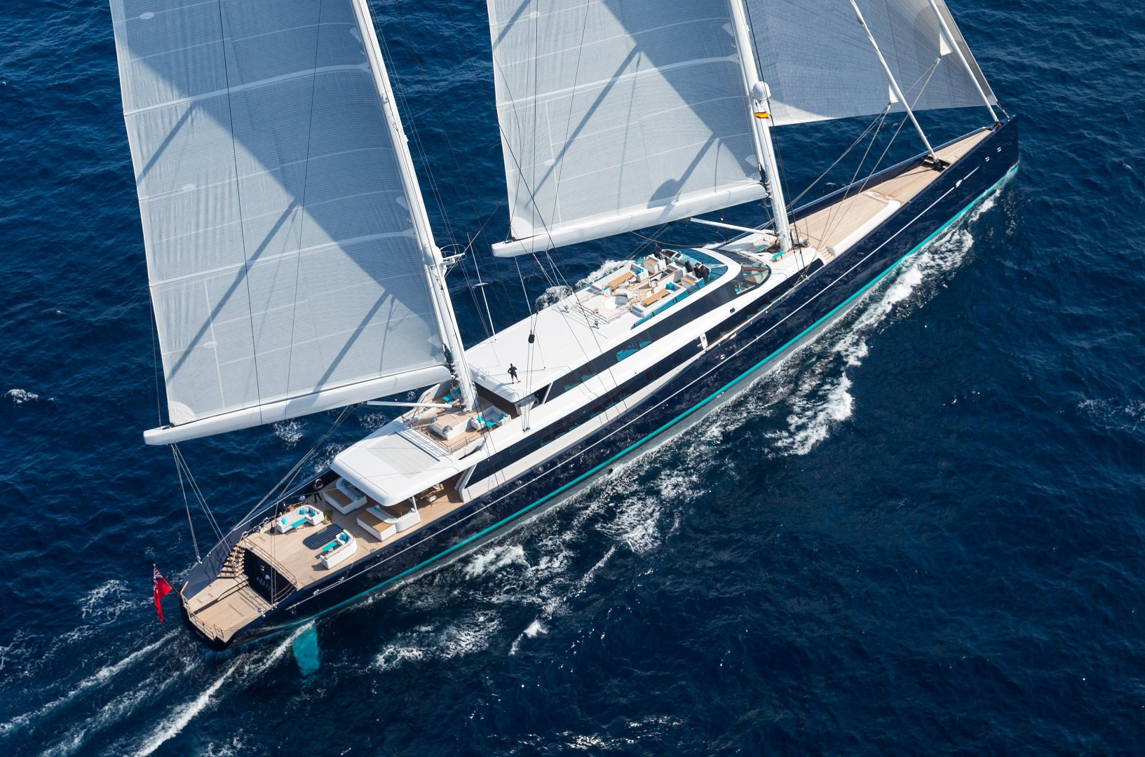 Yacht AQUIJO - on charter, sailing