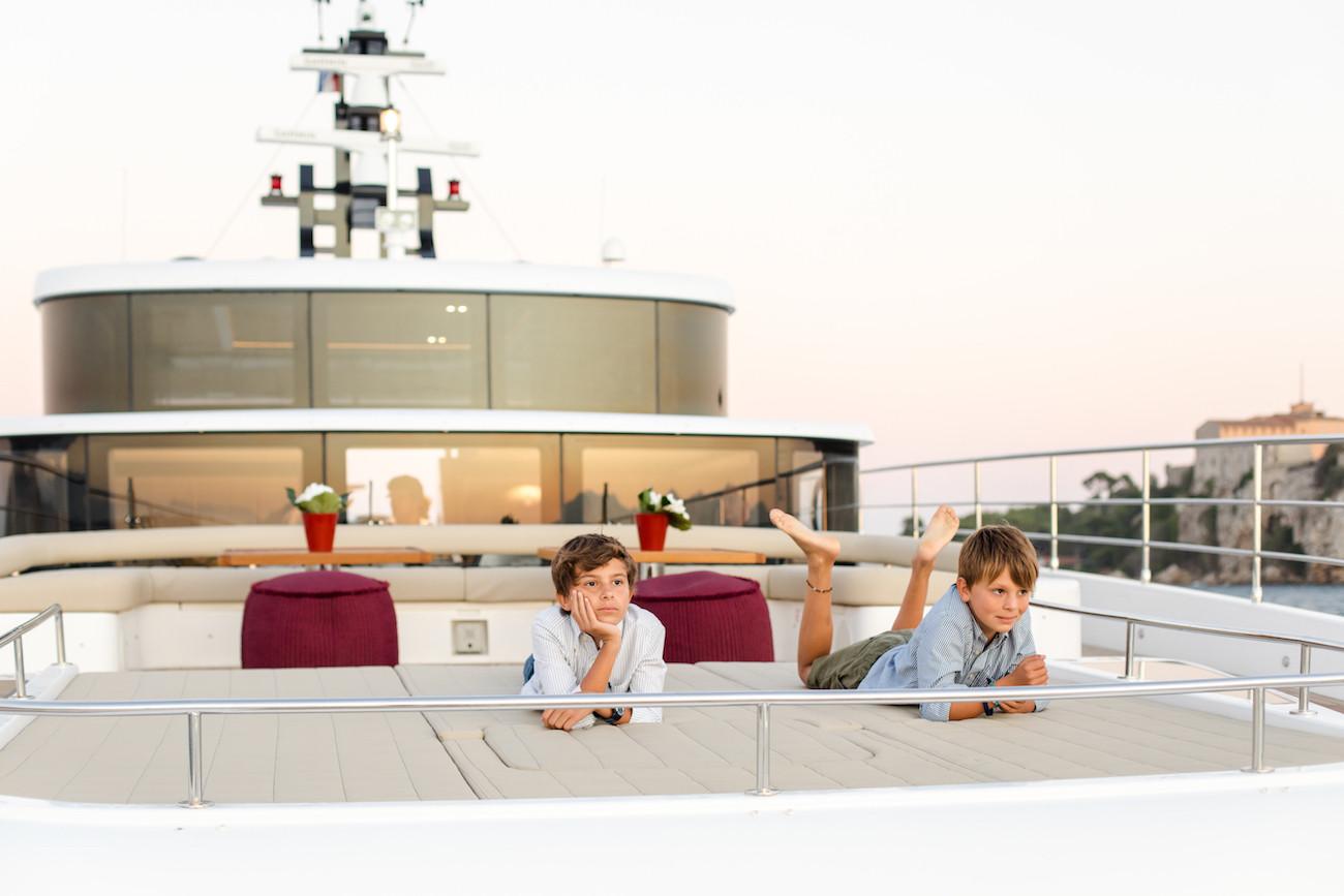 Yacht MIA - on family charter