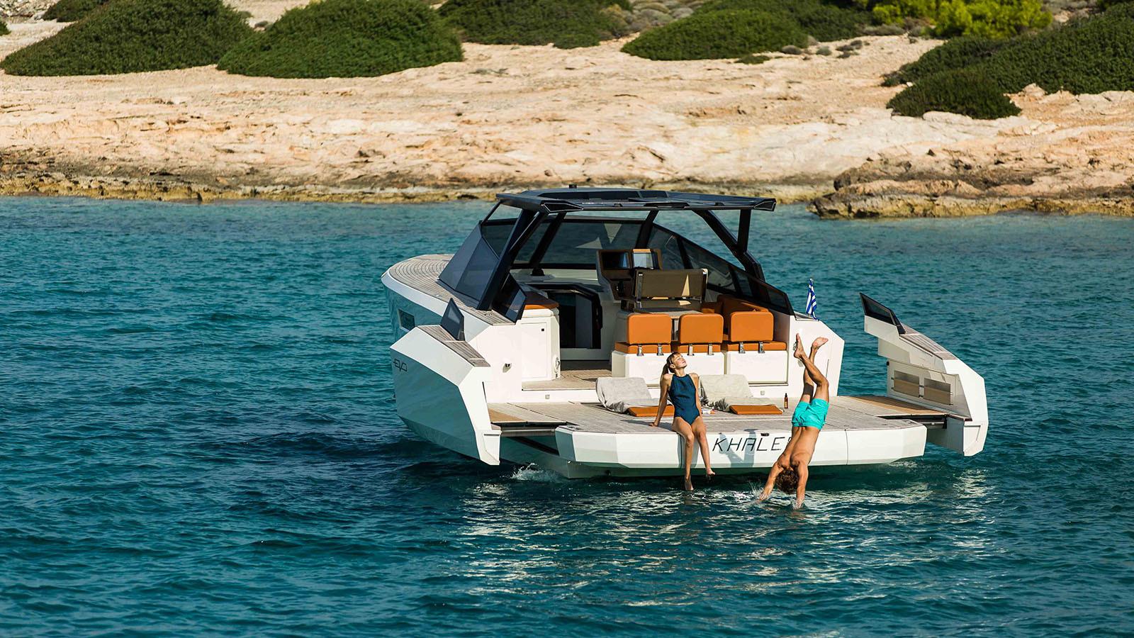 Yacht GECO - 43ft tender