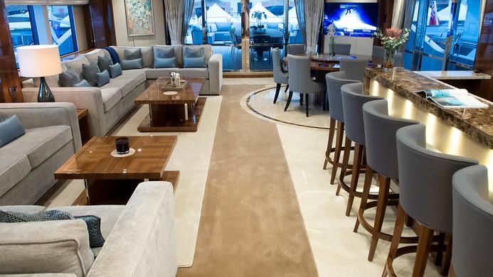Yacht PRINCESS AVK - bar