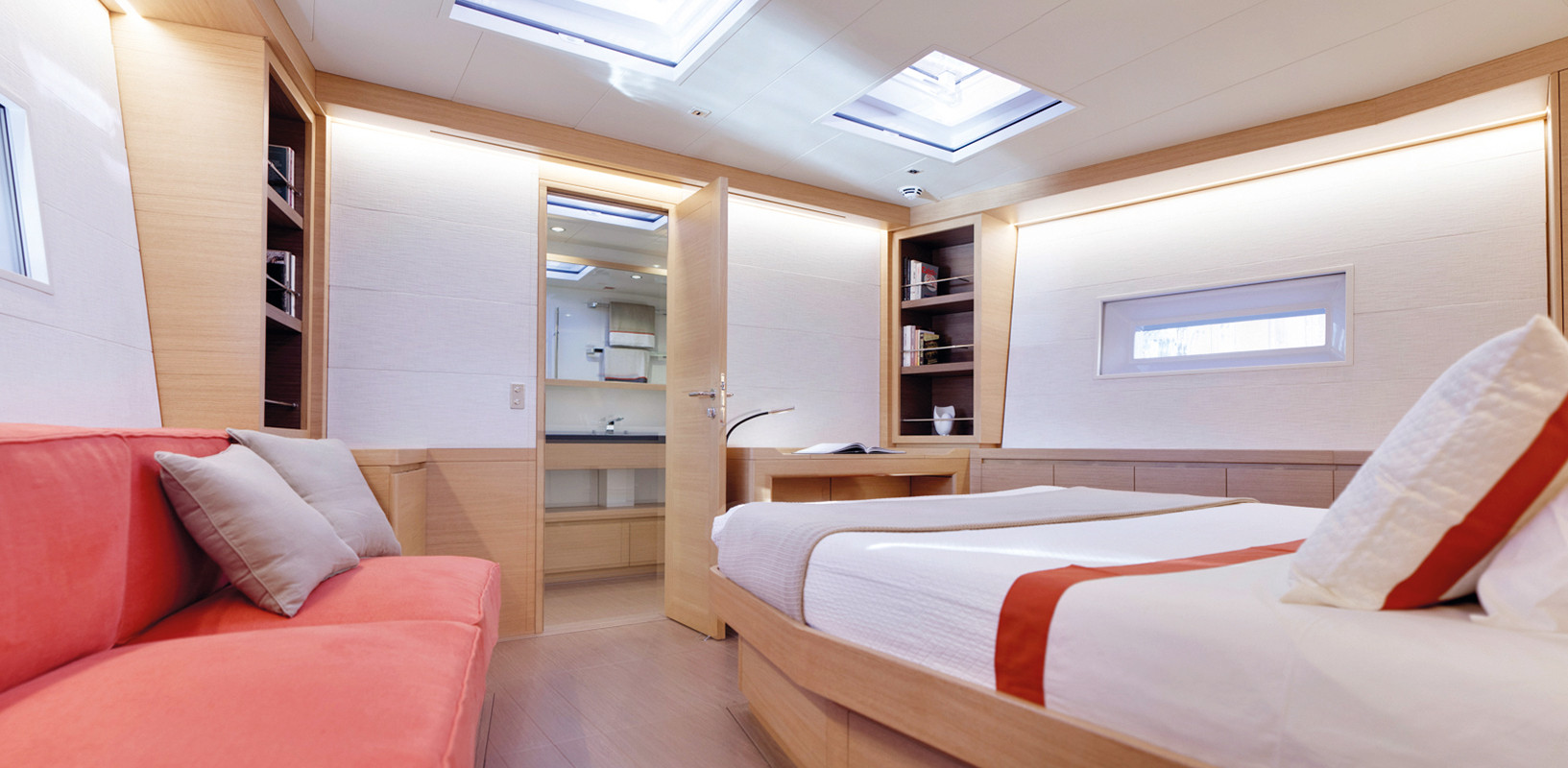 Sailing Yacht CROSSBOW - master cabin