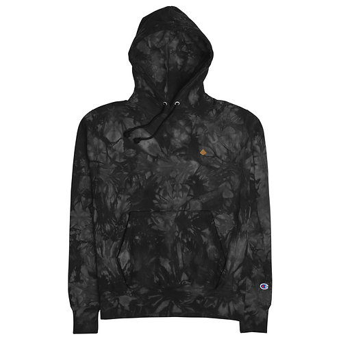 FreshAir X Champion tie-dye hoodie