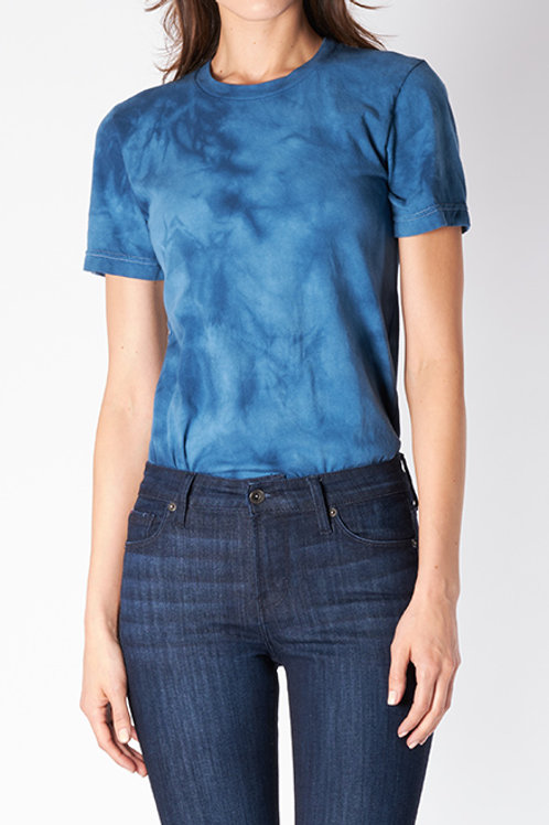 Indigo Tie-Dye T-Shirt