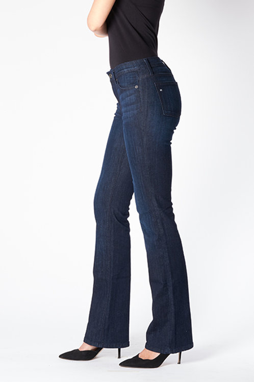 VENICE (Bootcut) Performance Stretch Riding Jean. Deep Ocean Wash