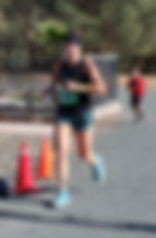 Jennifer Perez, of Hidden Valley Lake, CA finished first in theWomen's 10k with a time of 48:11 (7:46 pace) at the LakeConty Milers 2017 Vine to Wine Run.