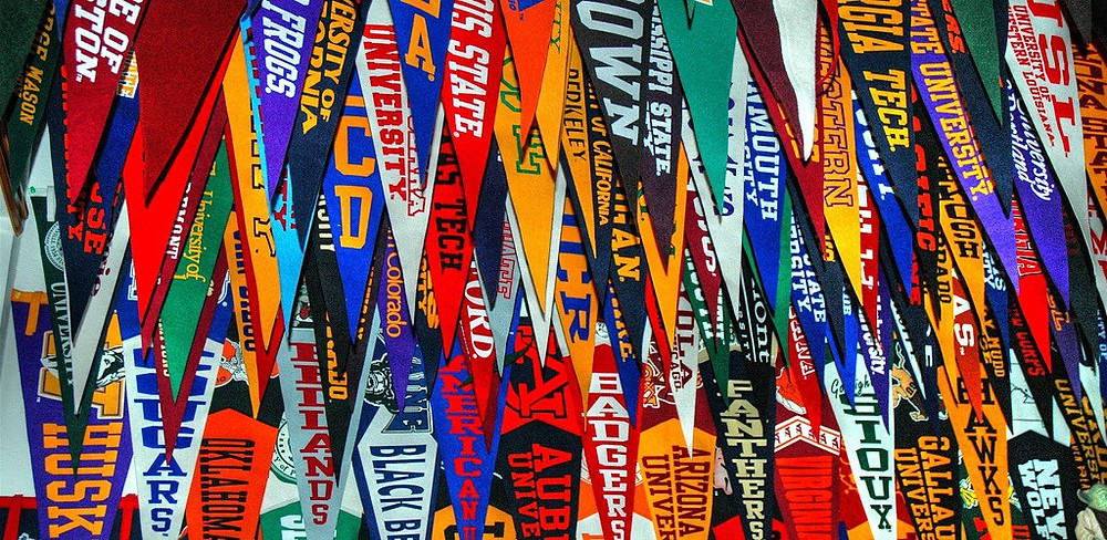 College Planning, College pennants, College Admissions