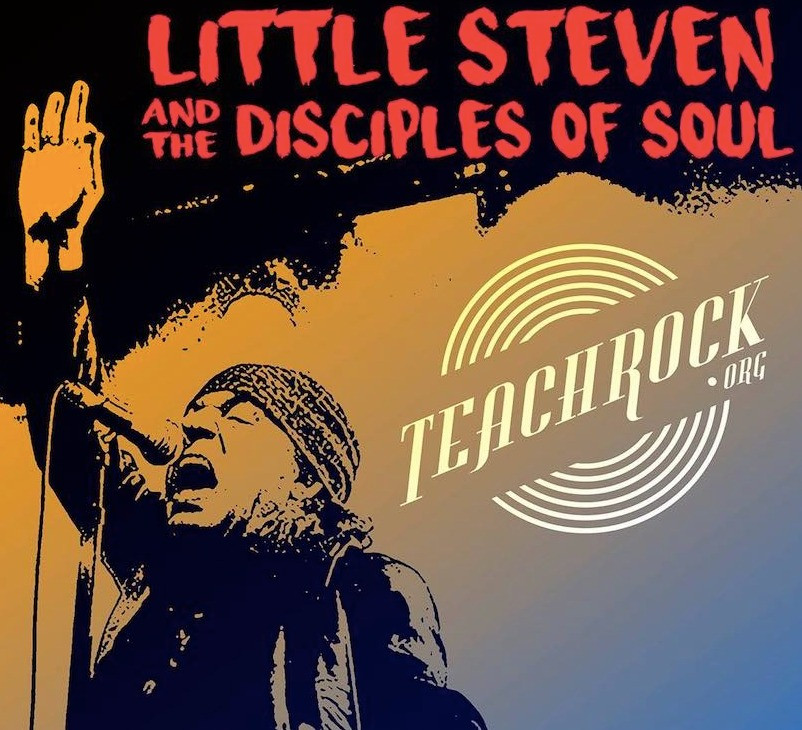 STEM, STEAM, TeachRock, Steven Van Zandt, Little Steven, Little Stevie, Rock and Roll Hall of Fame