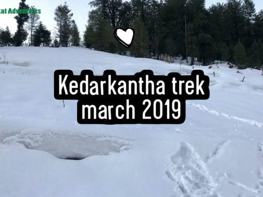Kedarkantha Trek Visual Journey March 2019