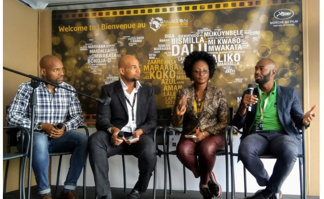 Jamaican delegation representing the local film industry at Cannes 2019