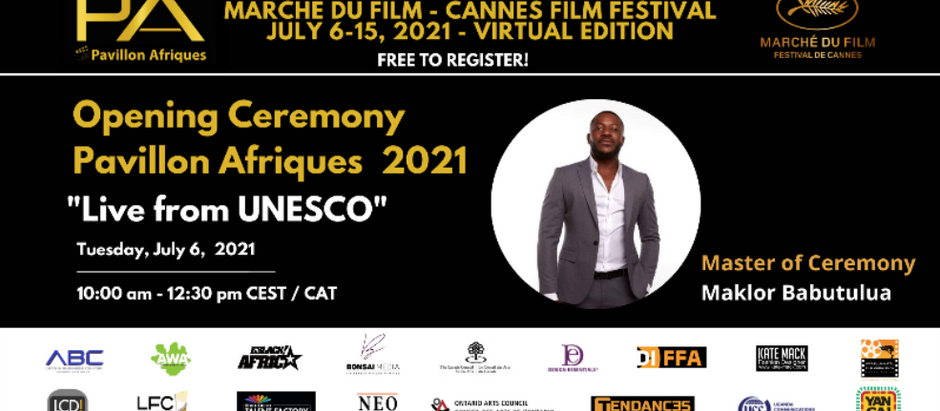 Newsletter #42  Opening Ceremony Pavillon Afriques 2021 - Live from UNESCO