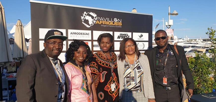 Le Pavillon Afriques au cœur du marché du film du Festival de Cannes