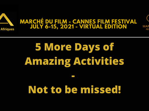 Newsletter #43 -  5 More Days of Amazing Activities - Not to be missed!