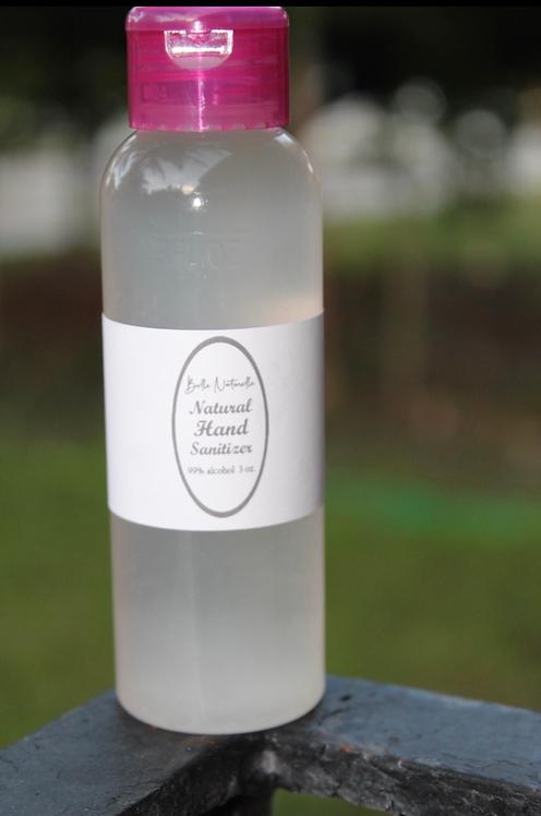 Natural Hand Sanitizer 3oz