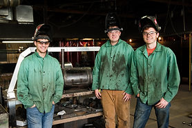 BGHS welding team with smoker.jpg