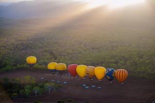 Hot air balloon - Cairns