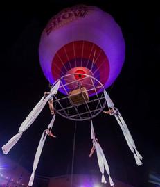 E-160 Super pressure balloon