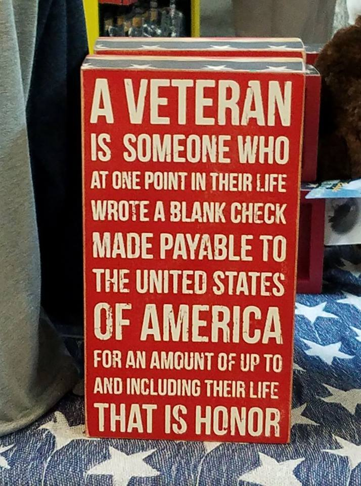 veteran plack