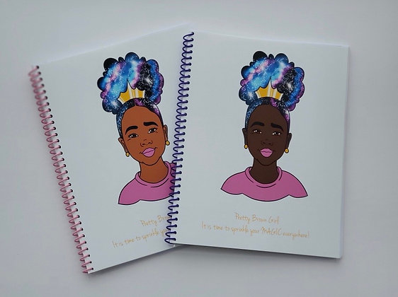Just for Me - Handcrafted Black Girl Magic Journal