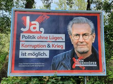 Team Todenhöfer zur Bundestagswahl 2021 zugelassen