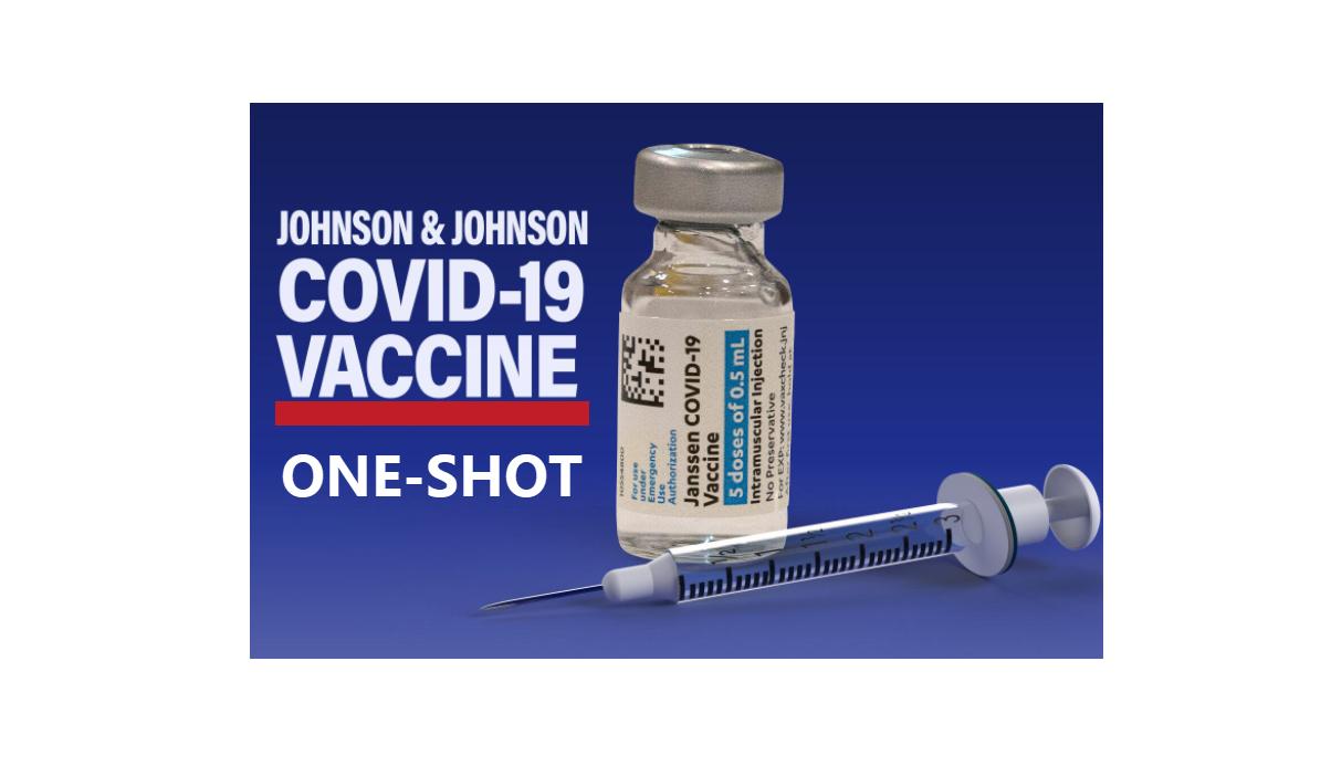 Johnson & Johnson One-Shot COVID vaccine