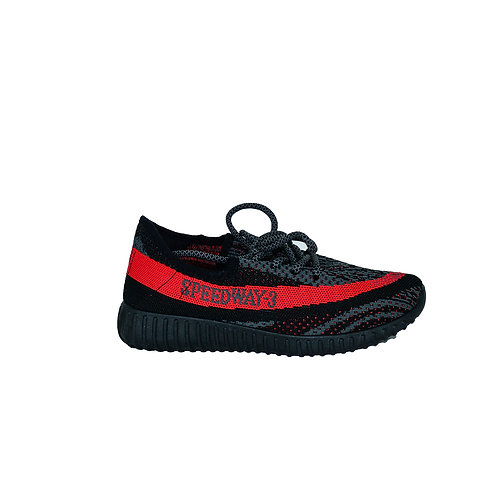 Women's Sneakers Red & Black