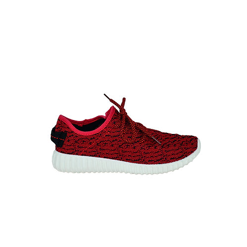 Women's Sneakers Red & White