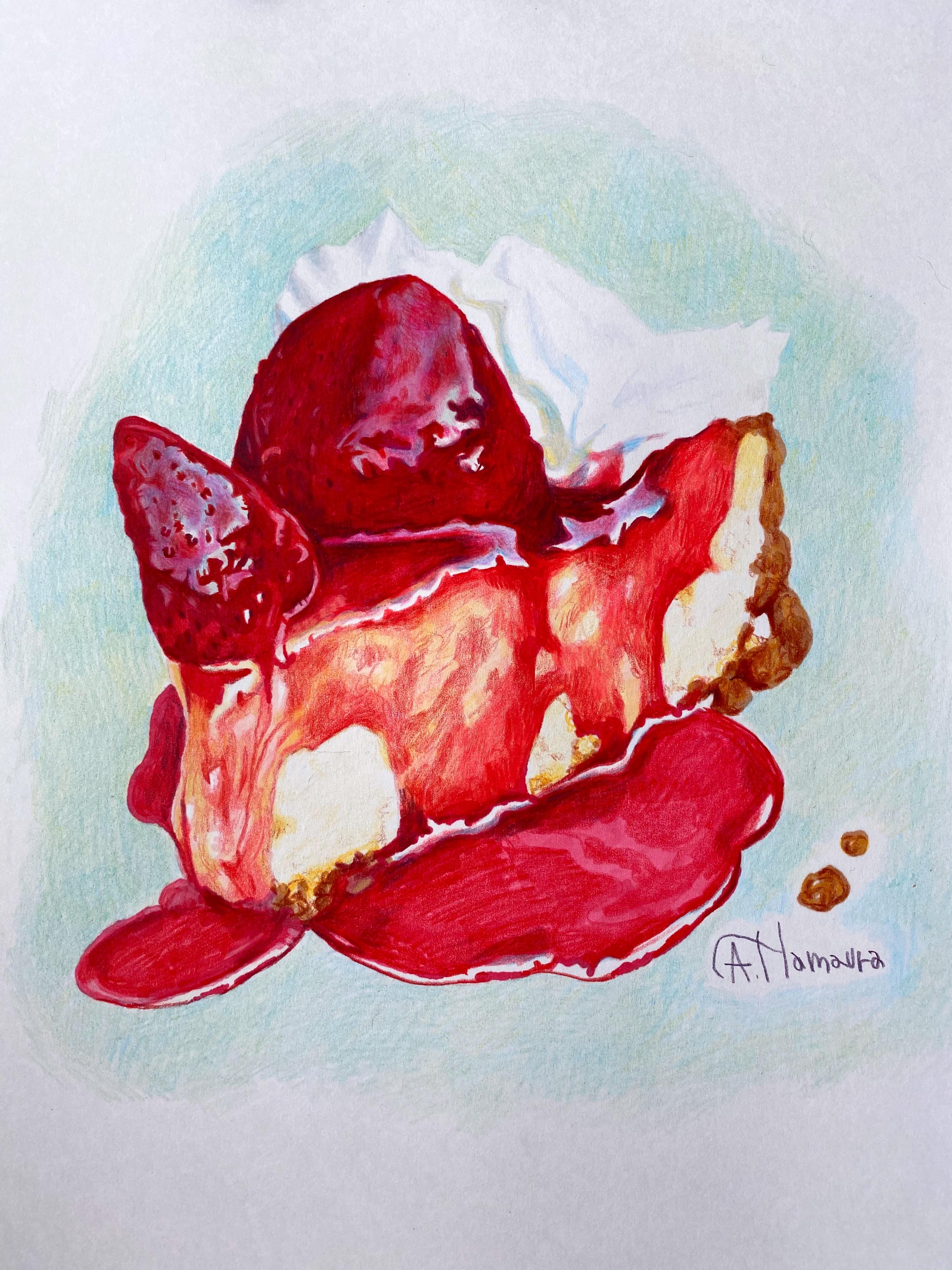 いちごチーズケーキ (sold)
