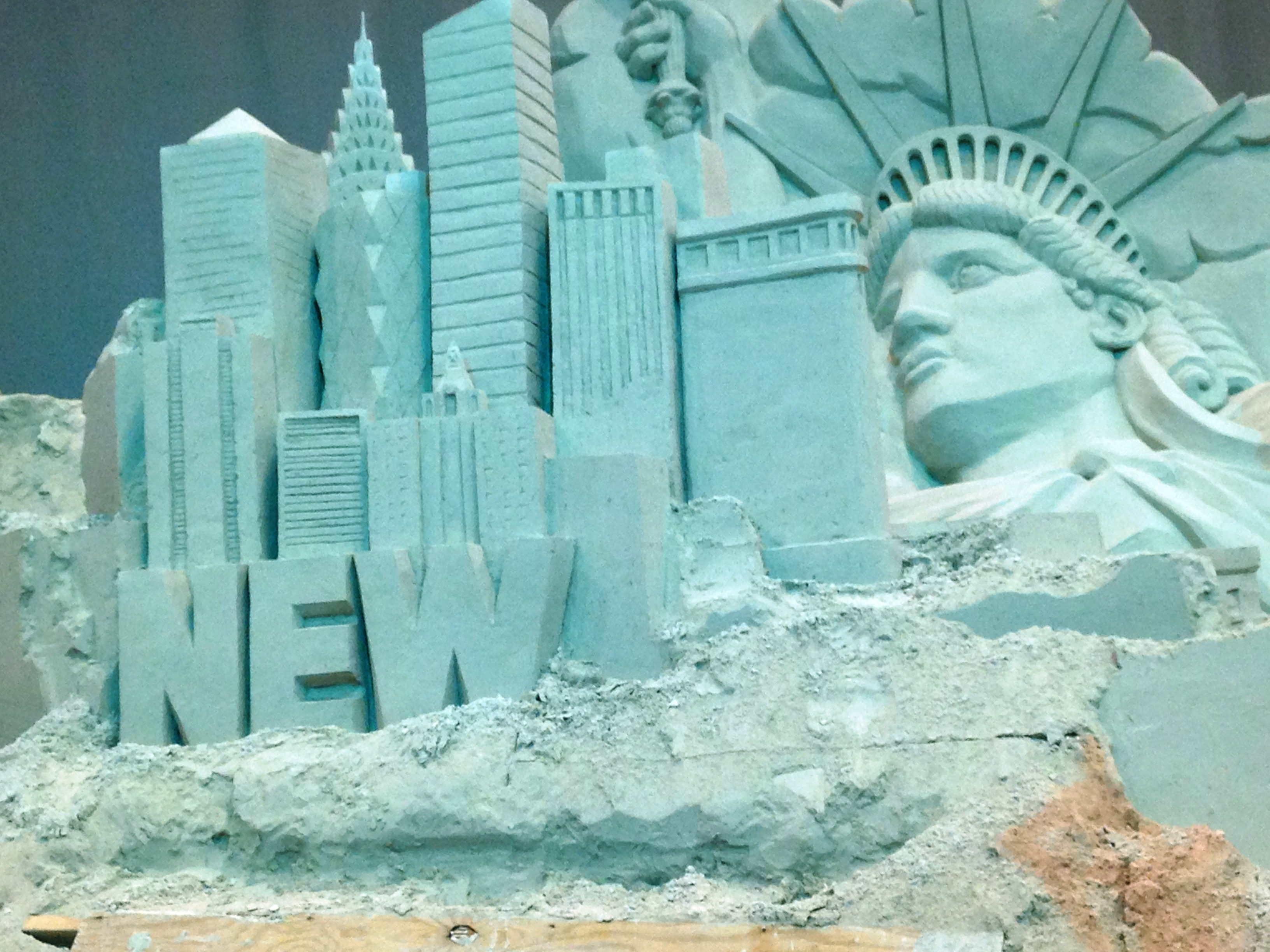 SFFair_Sand Sculpture_New York Theme_2014