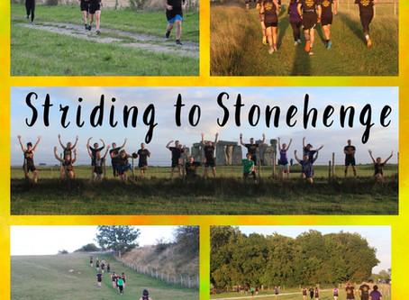 Striding to Stonehenge