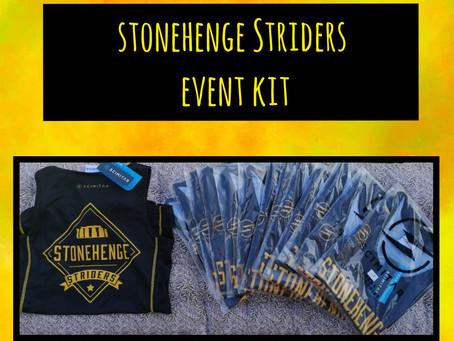 Stonehenge Striders Event Vests