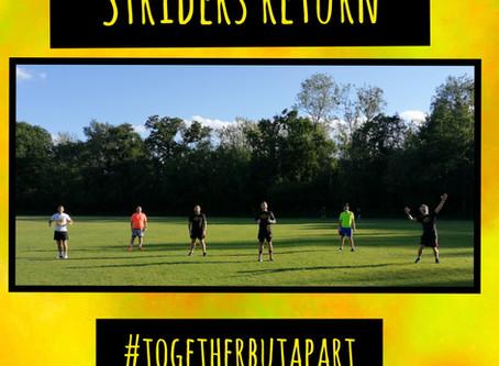 Stonehenge Striders are go!!!