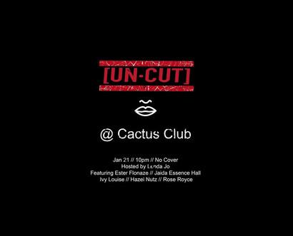 UN-CUT Flyer