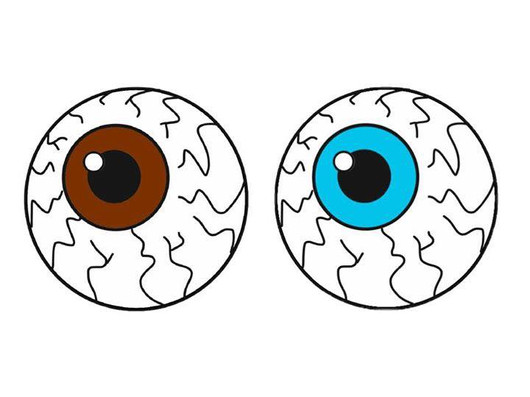 Enamel Button Eyes