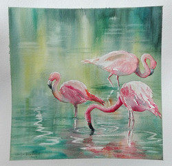 trio in rosa