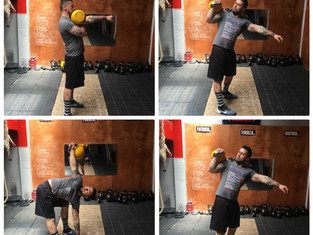 Kettlebell: Side Press
