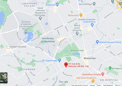 Map for 191 Erb St W.PNG