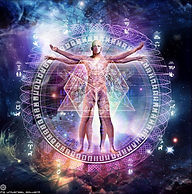 Auric clearing & Energy healing in progress