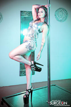 Sexy Stripper with a Whip!