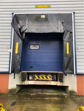 loading bay retractable dock shelters repair